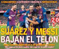 Suárez y Messi bajan el telón de LaLiga.