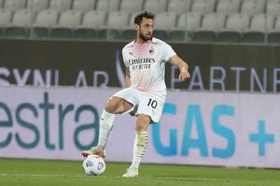 Hakan Calhanoglu Torino vs AC Milan 03.21.2021