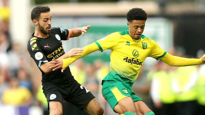 Jamal Lewis Norwich City 2019-20