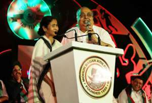 Swapan Sadhan Bose Tutu Mamata Banerjee Mohun Bagan