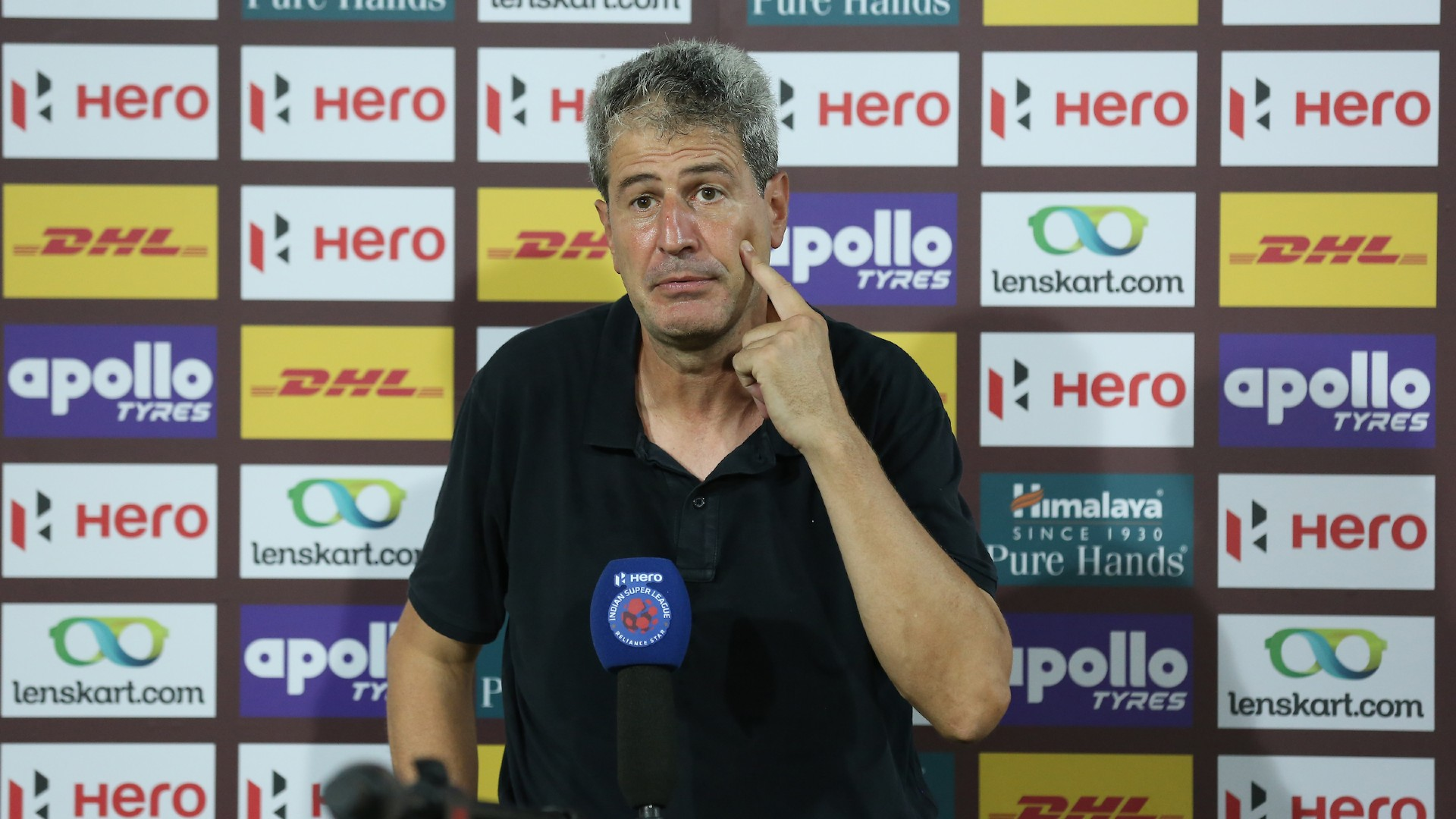 'We could have scored three goals before half-time - Hyderabad boss Manuel Marquez rues missed chances