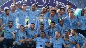 Manchester City Premier League champions 2018-19