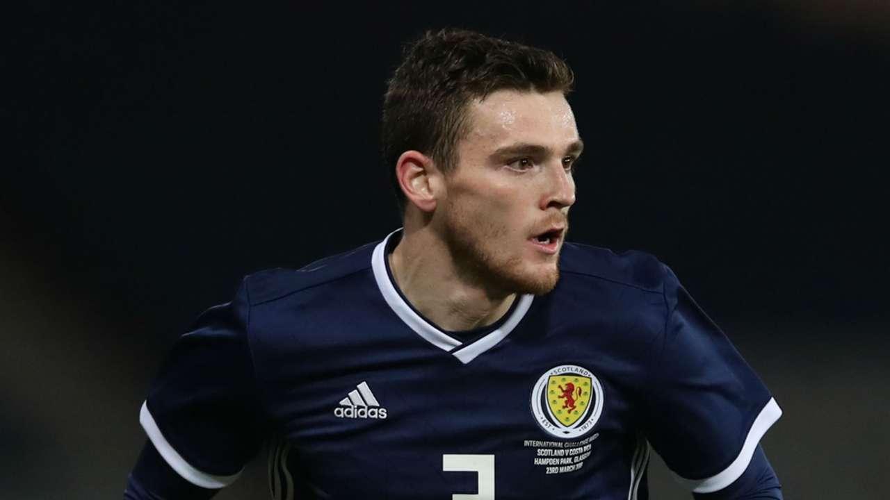 Andrew Robertson Scotland 2018