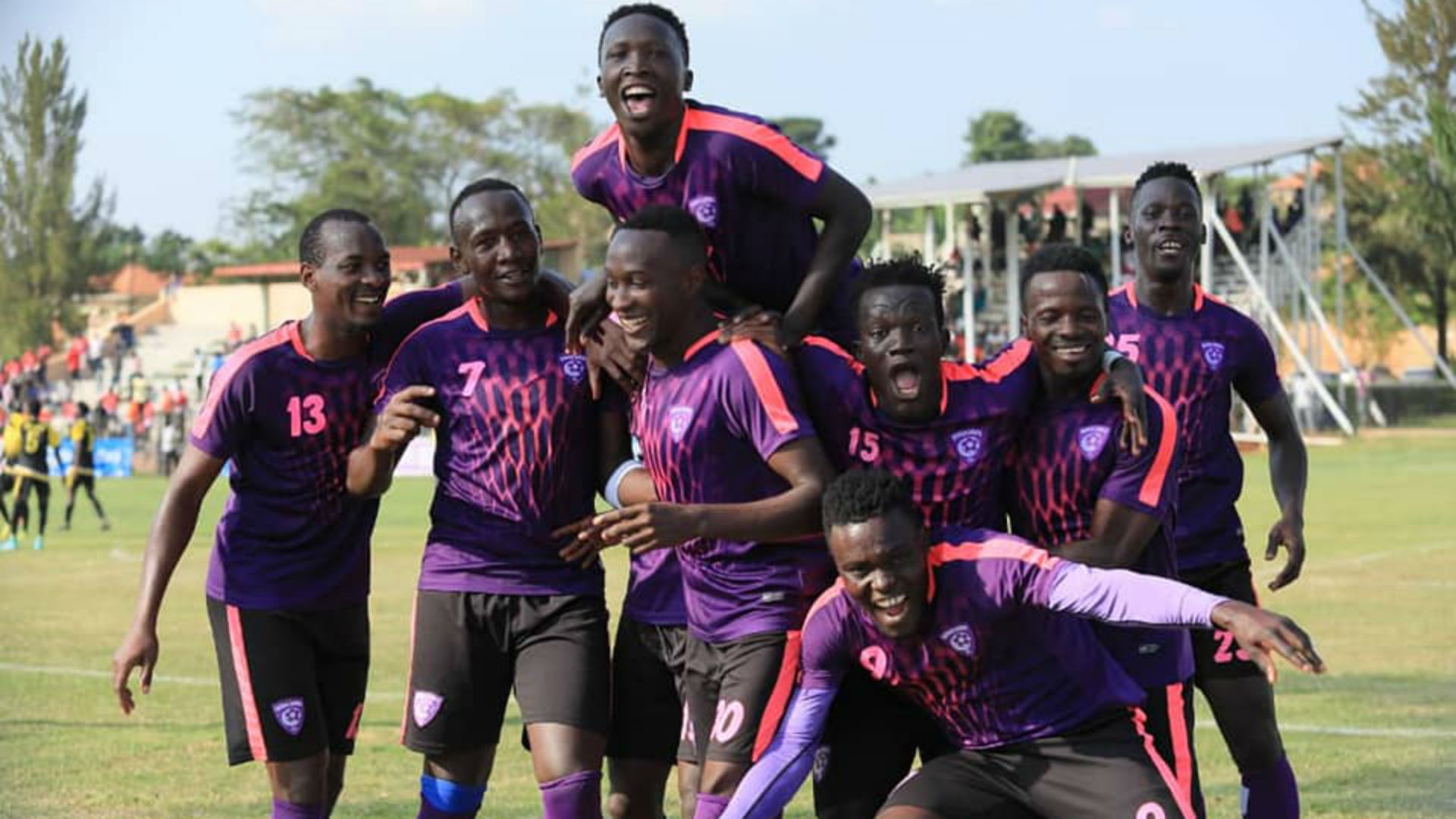 Wakiso Giants celebrate finishing 10th and keeping UPL status in ...