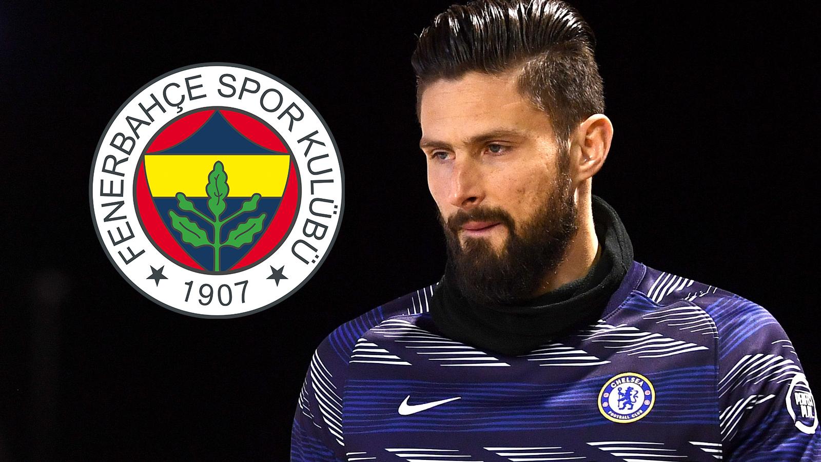 Fenerbahçe'Nin Hedefindeki Giroud'Un Gideceği Takım Açıklandı!