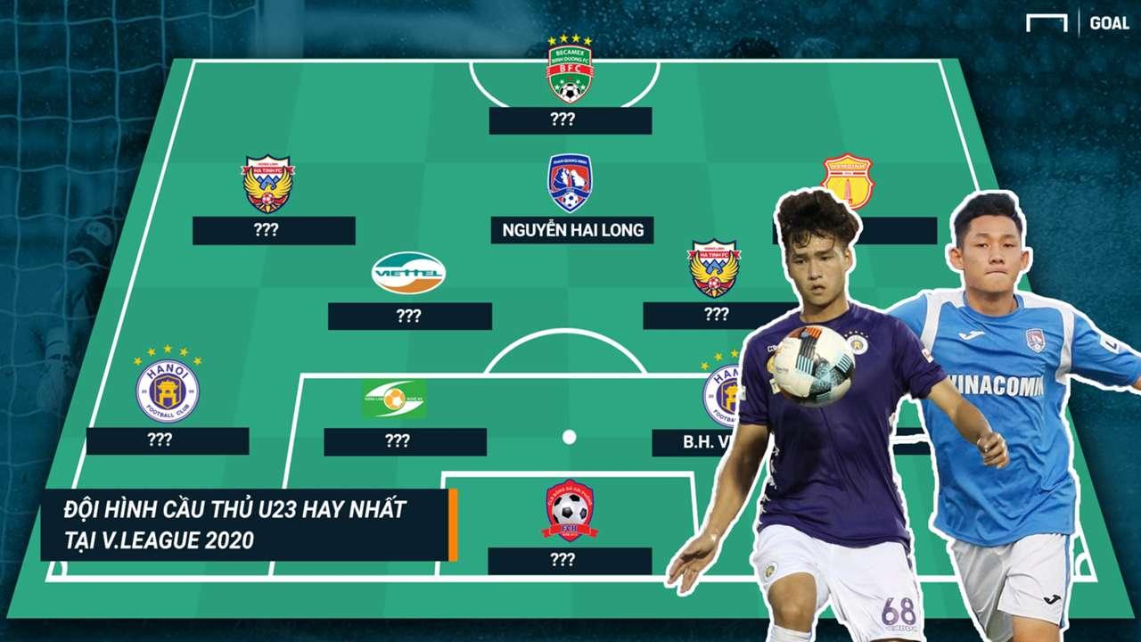 Đội hình tiêu biểu U23 V.League 2020