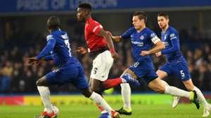 Pauk Pogba Manchester United Chelsea 18022019