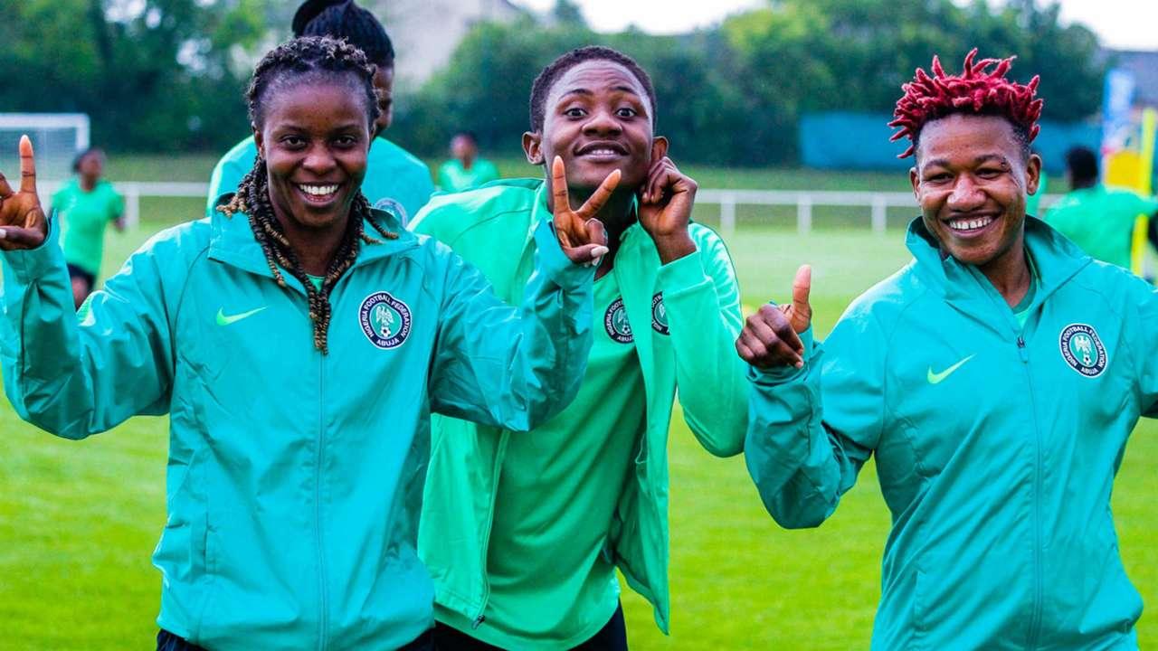 Nigeria train ahead of Last 16