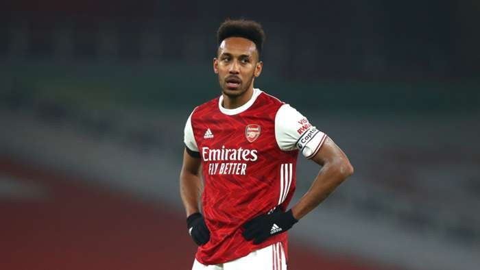 Pierre-Emerick Aubameyang Arsenal 2020-21