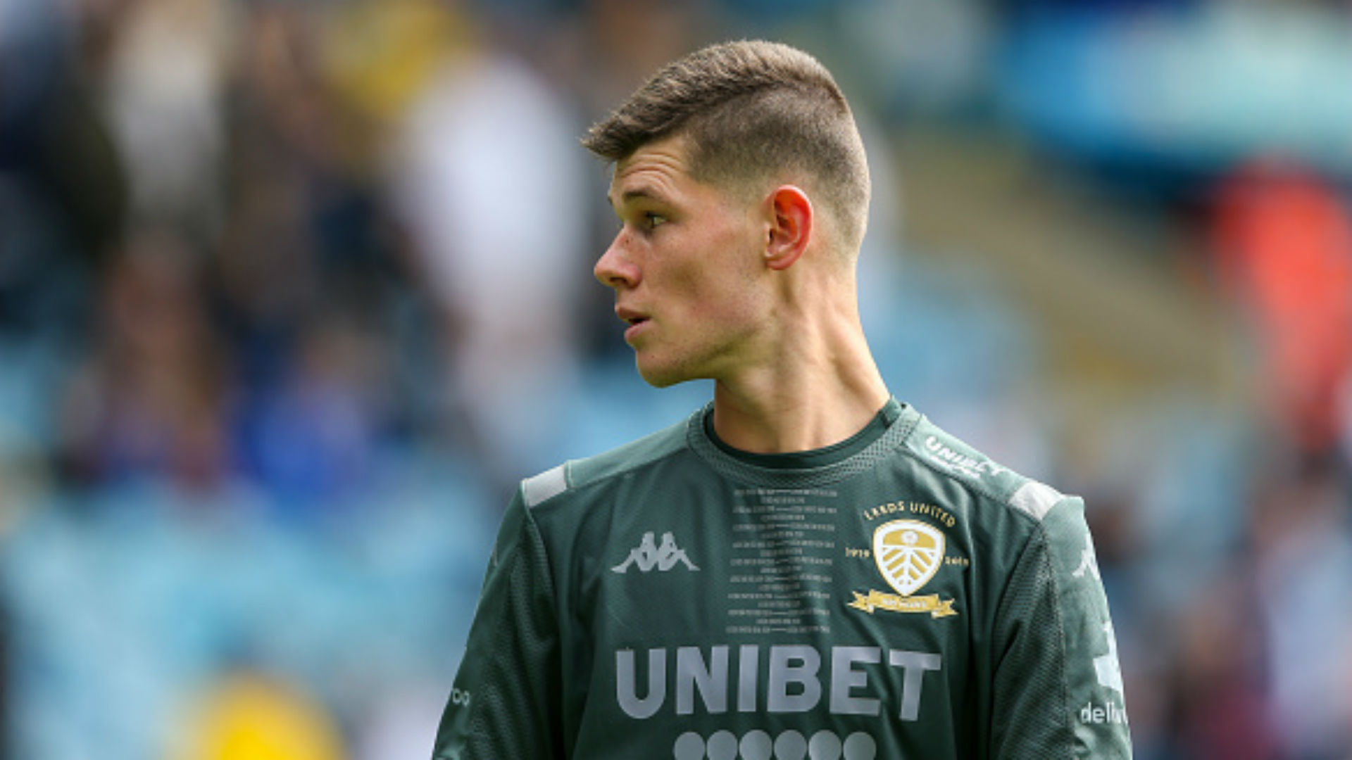 'Football is a religion in Leeds!' - Meslier hails 'crazy' fans as he waits for first-team opportunity