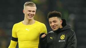 Erling Haaland Jadon Sancho Borussia Dortmund 2019-20