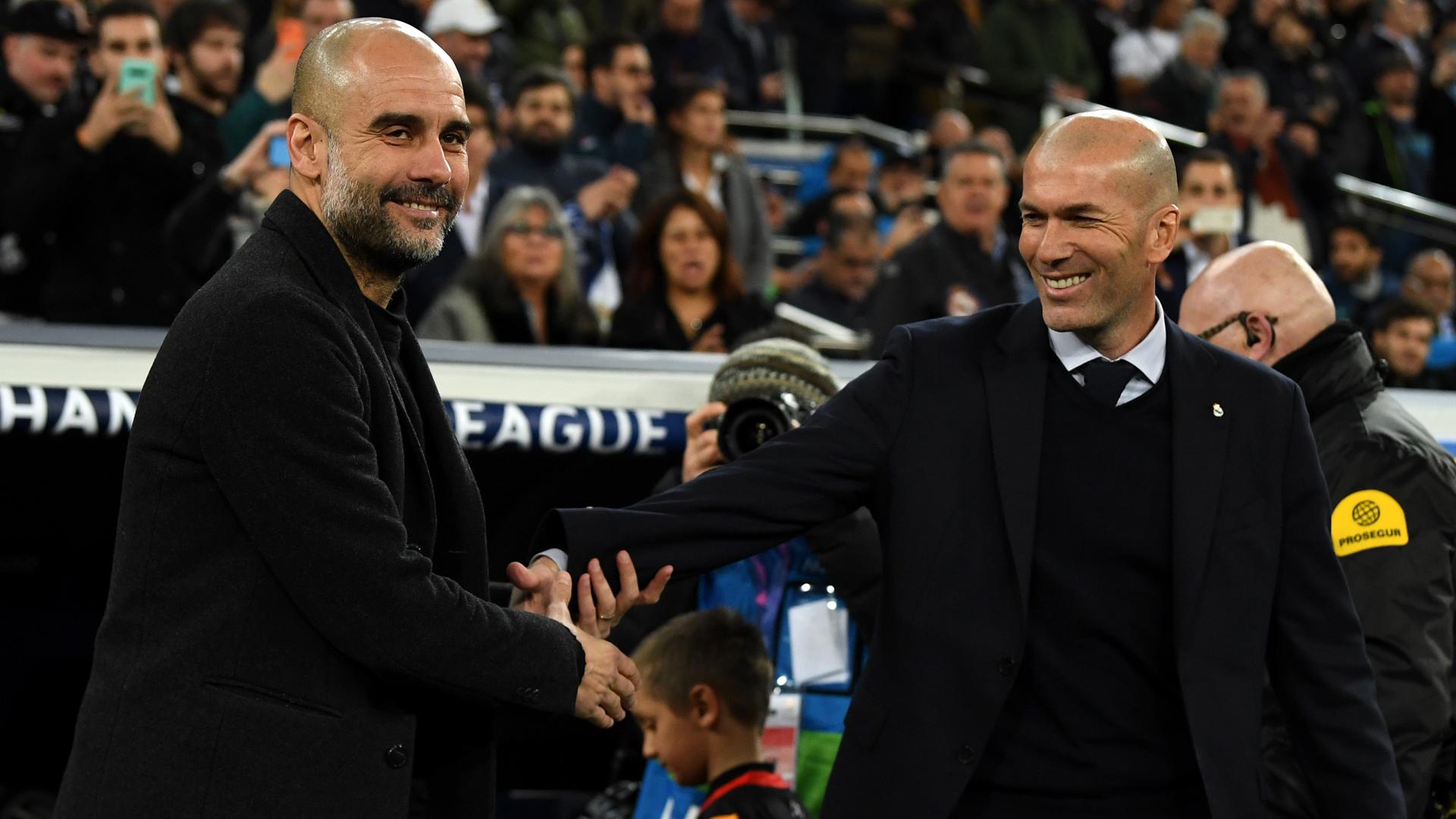 Manchester City, Guardiola redoute Zidane