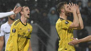 Rob Holding Shkodran Mustafi Arsenal 2019-20