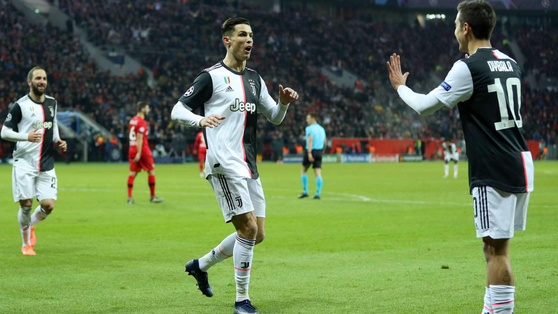 Dybala Ronaldo Bayer Juve