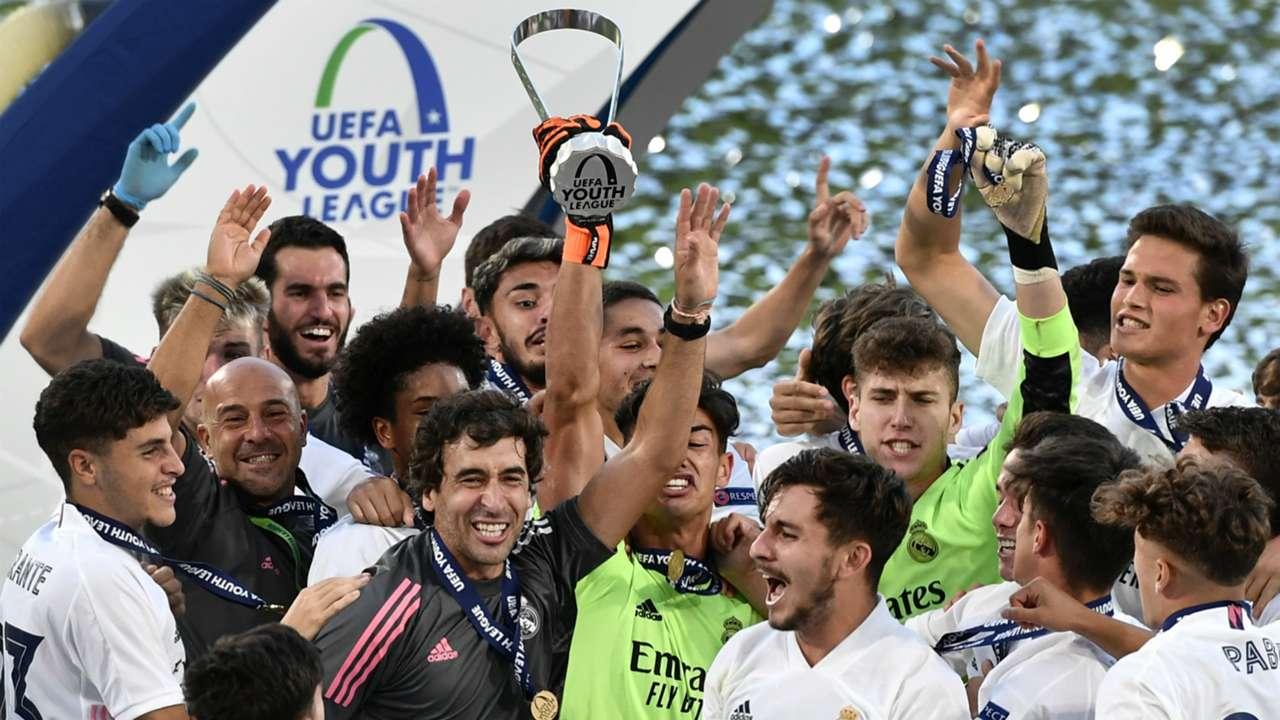 Raul Real Madrid Uefa Youth League
