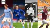 Absa Header Image, Manchester City vs Chelsea, Fulham vs Burnley