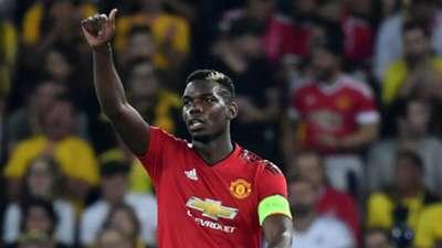 Paul Pogba Manchester United 19092018
