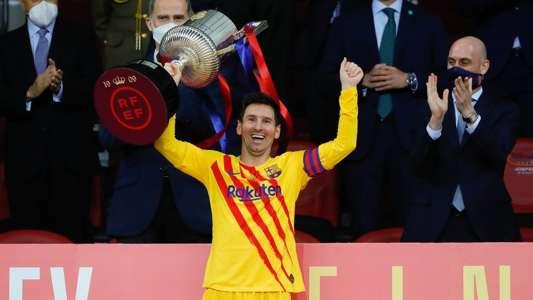 VIDEO: Nach Copa-Sieg - Barcelona-Coach Ronald Koeman mit Lobeshymnen auf Matchwinner Lionel Messi | Goal.com