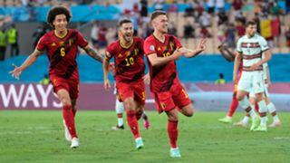 Thorgan Hazard Belgium Portugal Euro 2020
