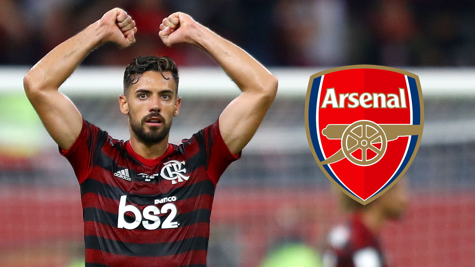 Flamengo defender Pablo Mari lands in London ahead of completing loan move to Arsenal with option to buy