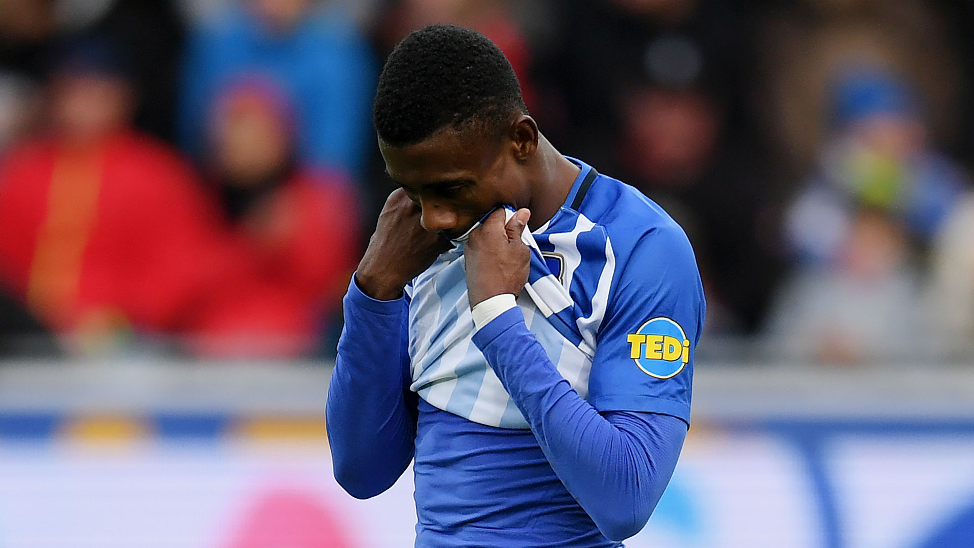 Kalou banned from Hertha Berlin training for breaking social distancing rules