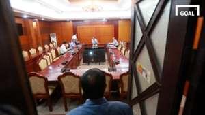 lãnh đạo VFF họp với Bộ VH.TT&DL