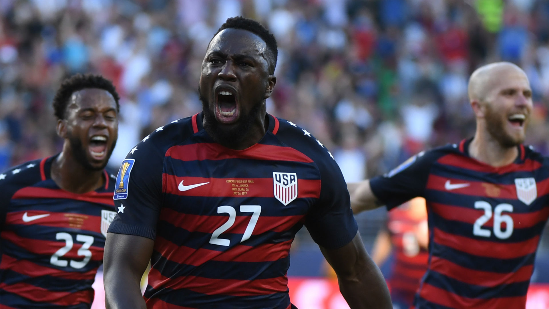 Jozy Altidore USA Gold Cup
