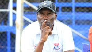 SAMMY PAMZO Omollo coach of Posta Rangers.