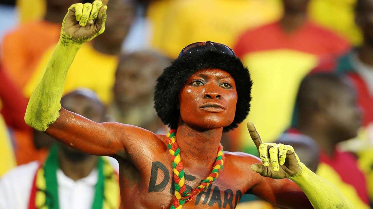 Ghana fan at 2017 Wafu