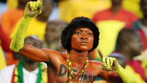 Ghana fan at 2017 Wafu