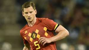 Jan Vertonghen Belgium Portugal international friendly 2018