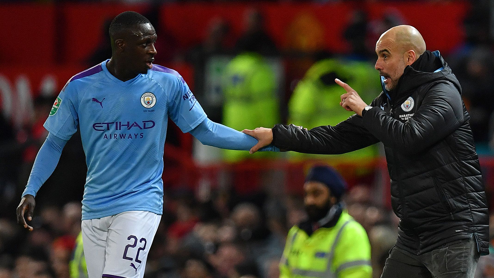 Mendy happy to know he is missed by Man City boss Guardiola