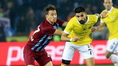 Joao Pereira Alper Potuk Trabzonspor Fenerbahce 1282018