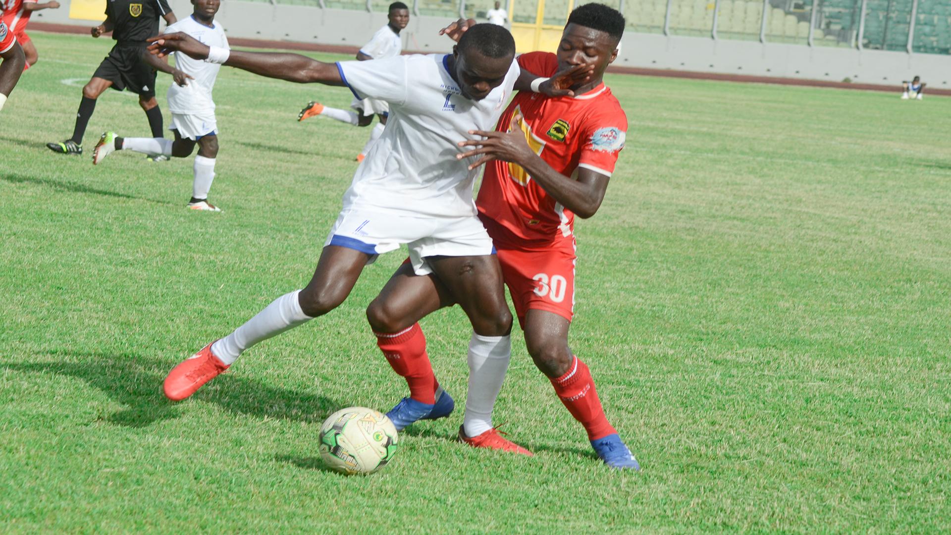 Berekum Chelsea's away magic dazes Ashanti Gold in Premier League