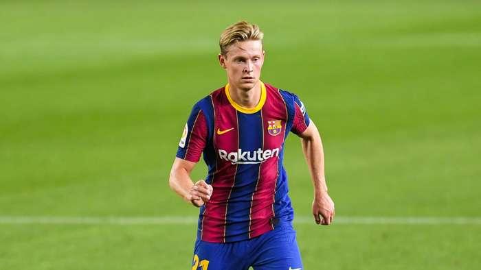 Frenkie de Jong Barcelona 2020-21