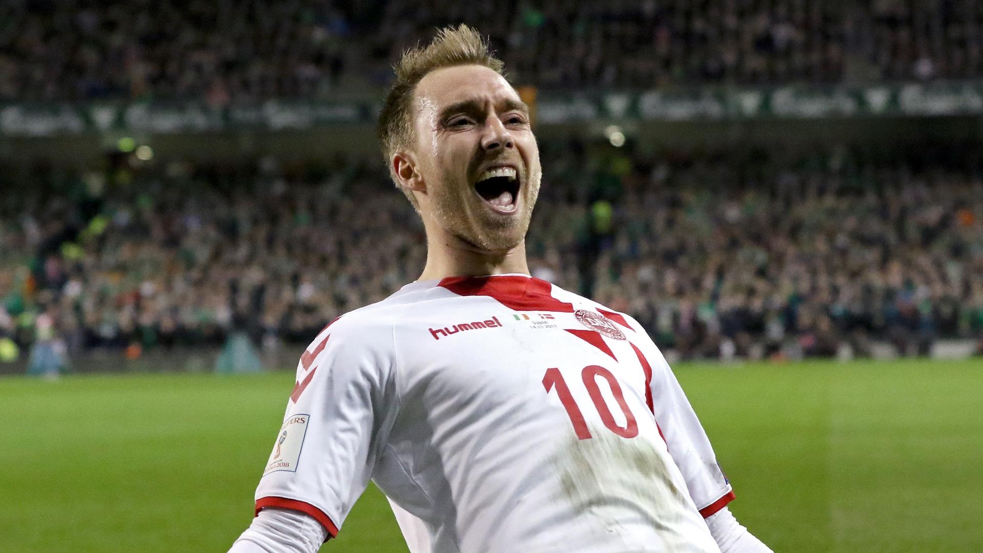 Christian Eriksen, Denmark