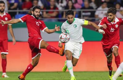 السعودية - لبنان - سالم الدوسري