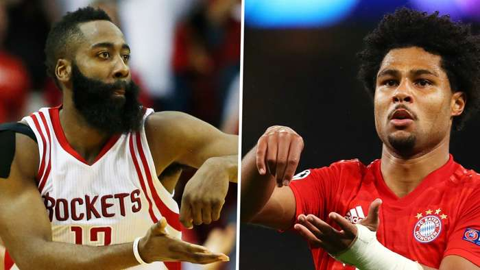 Serge Gnabry James Harden