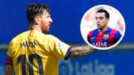 Messi Xavi composite