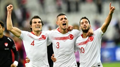 Caglar Soyuncu Merih Demiral Hakan Calhanoglu Turkey 2019