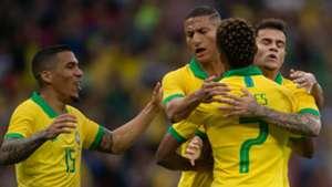 Neres Richarlison Coutinho Allan Brasil Honduras Amistoso 09062019