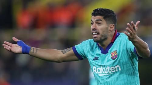 Luis Suarez BVB Barcelona