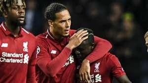 Virgil van Dijk Sadio Mane Liverpool 2018-19
