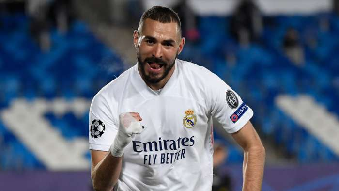 Karim Benzema, Real Madrid, Champions League 2020-21