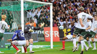 Thierry Henry handball France v Ireland 2009
