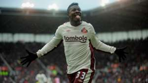 Asamoah Gyan of Sunderland