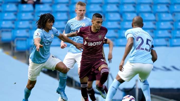 Nathan Ake Raphinha Manchester City Leeds 2020-21
