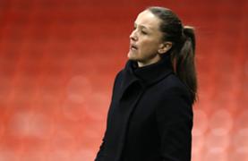 Casey Stoney Manchester United Women 2020