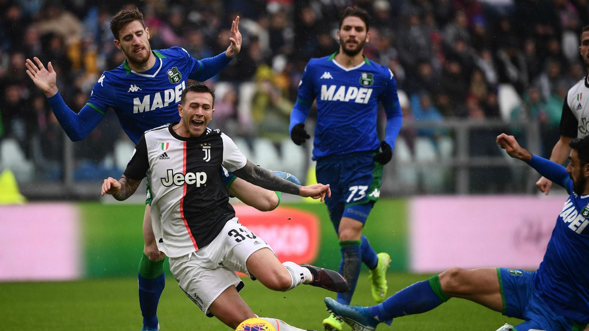 Federico Bernardeschi Juventus Sassuolo