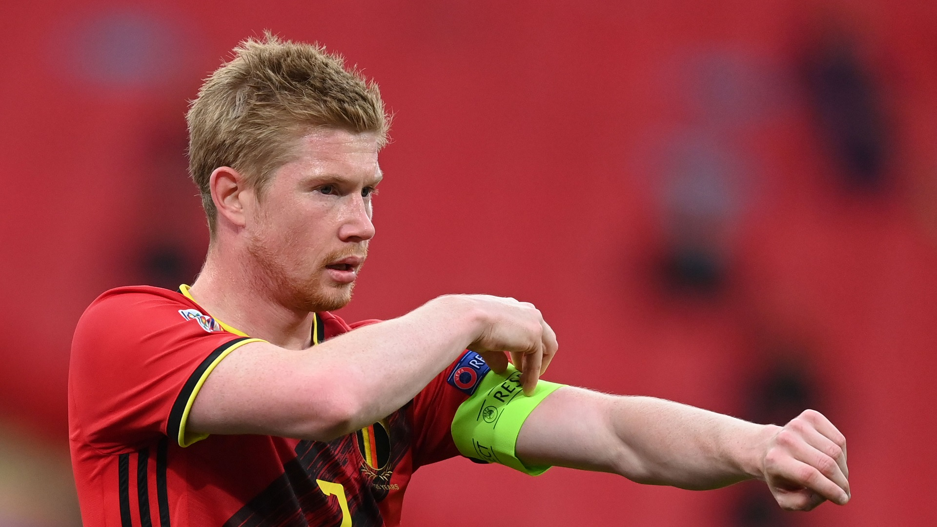 Injury scare for Man City as De Bruyne withdraws from Belgium squad